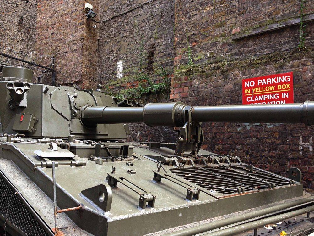 Tank in London