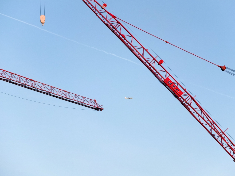London's cranes