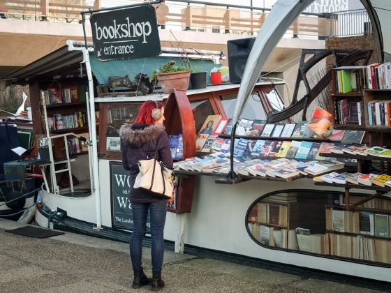 Bookshop on Regent's Canal London